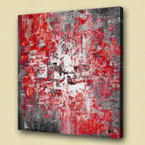 Abstract Creative Strokes Wall Art Size: 100 cm H x 100 cm W x 4.2 cm D,