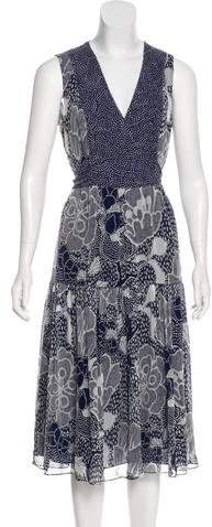 Diane von Furstenberg Vanya Silk Dress