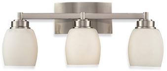 Bed Bath & Beyond ELK Lighting Northport 3-Light Vanity in Satin Nickel