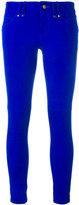 Plein Sud Jeans skinny trousers - women - Suede - 38