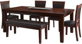 Asstd National Brand 6-Pc. Extendable Dining Table Set