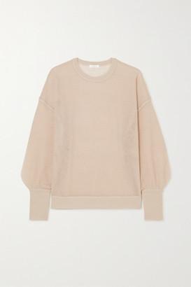 Eres Futile Open-knit Cashmere Sweatshirt - Taupe