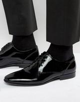 Aldo Lentina Patent Leather Derby Shoes