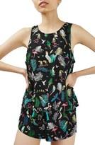 Topshop Tropical Bird Pajamas