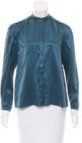 Band Of Outsiders Silk Long Sleeve Blouse w/ Tags