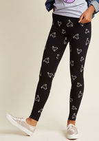 Banned Good Light and Good Luck Glow-in-the-Dark Leggings in XS - by Banned from ModCloth