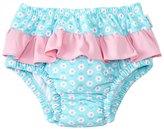 I Play Girls' Classic Ruffle Swimsuit Bottom w/Builtin Swim Diaper (6mos-3T) - 8145770