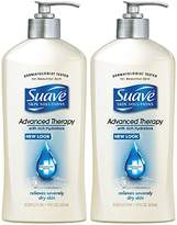 Suave Advanced Therapy Hydrators Skin Lotion Pump, 2 Count
