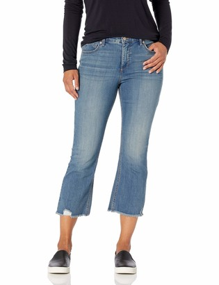 Gloria Vanderbilt Women's Kick Bottom Crop Jean