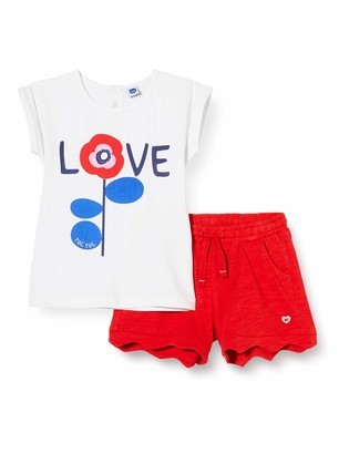 Tuc Tuc RED Heart Jersey T-Shirt and Shorts Set for Girl SEA Riders