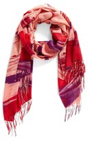 Nordstrom Women's Painted Dream Wool & Cashmere Scarf