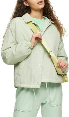 Topshop Jonny Shell Drawstring Jacket