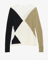 Ohne Titel Colorblocked Argyle Pullover
