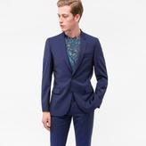 Paul Smith Men's Mid-Fit Indigo Wool Suit