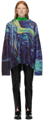 Namacheko Blue Mohair Rezyane Sweater