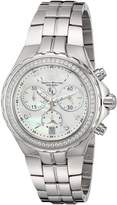 Technomarine Women's 'Eva Longoria' Swiss Quartz Stainless Steel Casual Watch, Color:Silver-Toned (Model: TM-416030)