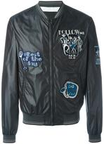 Dolce & Gabbana musical patch bomber jacket - men - Polyamide/Polyester - 48
