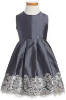 Isabel Garreton Sleeveless Taffeta Dress (Toddler Girls)