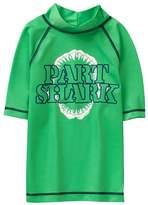 Crazy 8 Part Shark Rash Guard