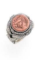 Konstantino Women's 'Aeolus - Hermes' Coin Ring