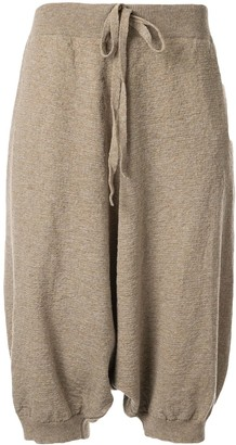 Forme D'expression Sarouel knit trousers