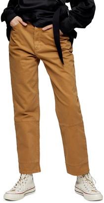 Topshop Slimmy Straight Leg Jeans