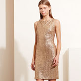 Ralph Lauren Sequined Cutout Dress