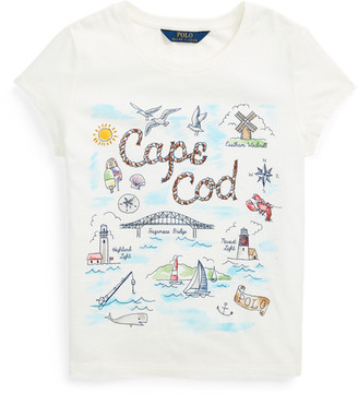 Ralph Lauren Cape Cod Cotton Jersey Tee