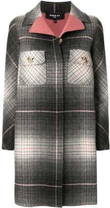 Paule Ka Gradient Check Coat