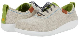 Samuel Hubbard Hubbard Dreams Lace-Up (Oatmeal Heather/Lime) Women's Shoes