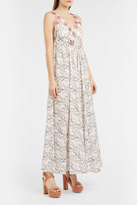 Giamba Floral Appliqu Lace Dress