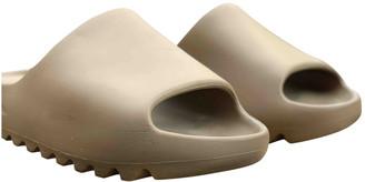 Yeezy Brown Rubber Sandals