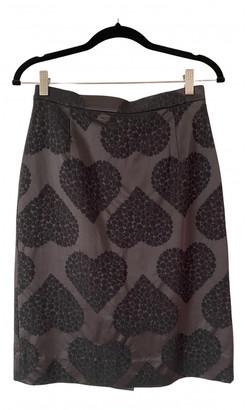 Orla Kiely Black Polyester Skirts