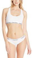 Calvin Klein Women's Modern Cotton Bralette and Bikini Gift Set
