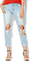 New York & Co. Soho Jeans - Relaxed Boyfriend - Sassy Blue Wash