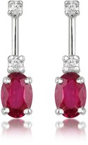 Tagliamonte Incanto Royale Ruby and Diamond 18K Gold Drop Earrings