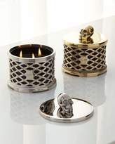 Waterford D.L. & Company Skull Lattice with Crystals Scented Candle