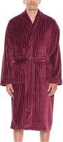 Asstd National Brand Residence Men's Fleece Long Sleeve Robe