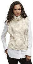 Kenneth Cole Sleeveless Turtleneck Sweater