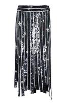 MONSE Star Fringe Skirt
