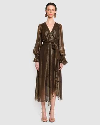 Ginger & Smart Bourgeois Wrap Dress