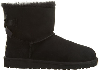 UGG Mini Bailey Bow Suede Boot