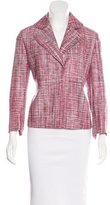 Akris Punto Silk Tweed Blazer