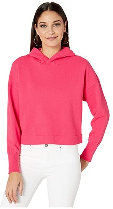 BB Dakota All Hood Things Sweater (Hot Pink) Women's Sweater