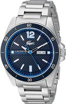 Lacoste Men's 2010801 Seattle Analog Display Japanese Quartz Silver Watch