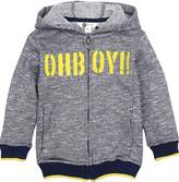 Petit Lem Boy's Hooded Sweatshirt Deep See Life, Sizes 2-7