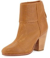 Rag & Bone Classic Newbury Perforated Bootie, Walnut