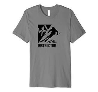 Ski Instructor T-Shirt for Skiing Instructors Ski School Premium T-Shirt