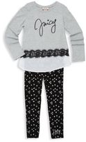 Juicy Couture Little Girl's & Girl's Two-Piece Top & Pants Set