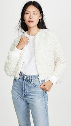 Tibi Cropped Bomber Jacket